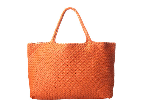 Aquatalia - Walker (Orange Woven Calf) Tote Handbags