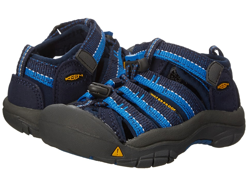 Keen Kids - Newport H2 (Toddler/Little Kid) (Dress Blue/Daphne) Boys Shoes