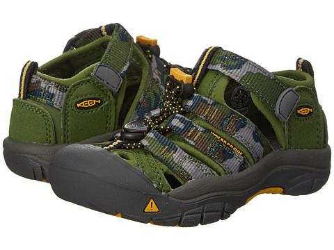 Keen Kids - Newport H2 (Toddler/Little Kid) (Garden Green Camo) Boys Shoes
