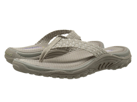 SKECHERS - Reggae - Stir It Up (Taupe/Silver) Women