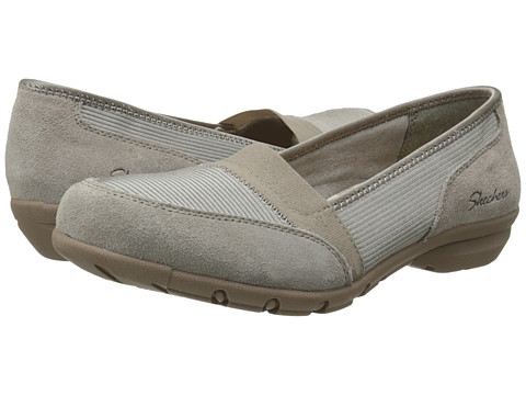 SKECHERS - Career - Meeting (Taupe) Women's Shoes