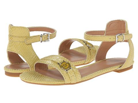 Armani Jeans - Textured Ankle Strap Sandal (Sunflower) Women