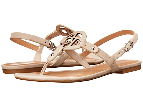 Armani Jeans - Slingback Flat Sandal (Sandy Brown) Women's Sandals