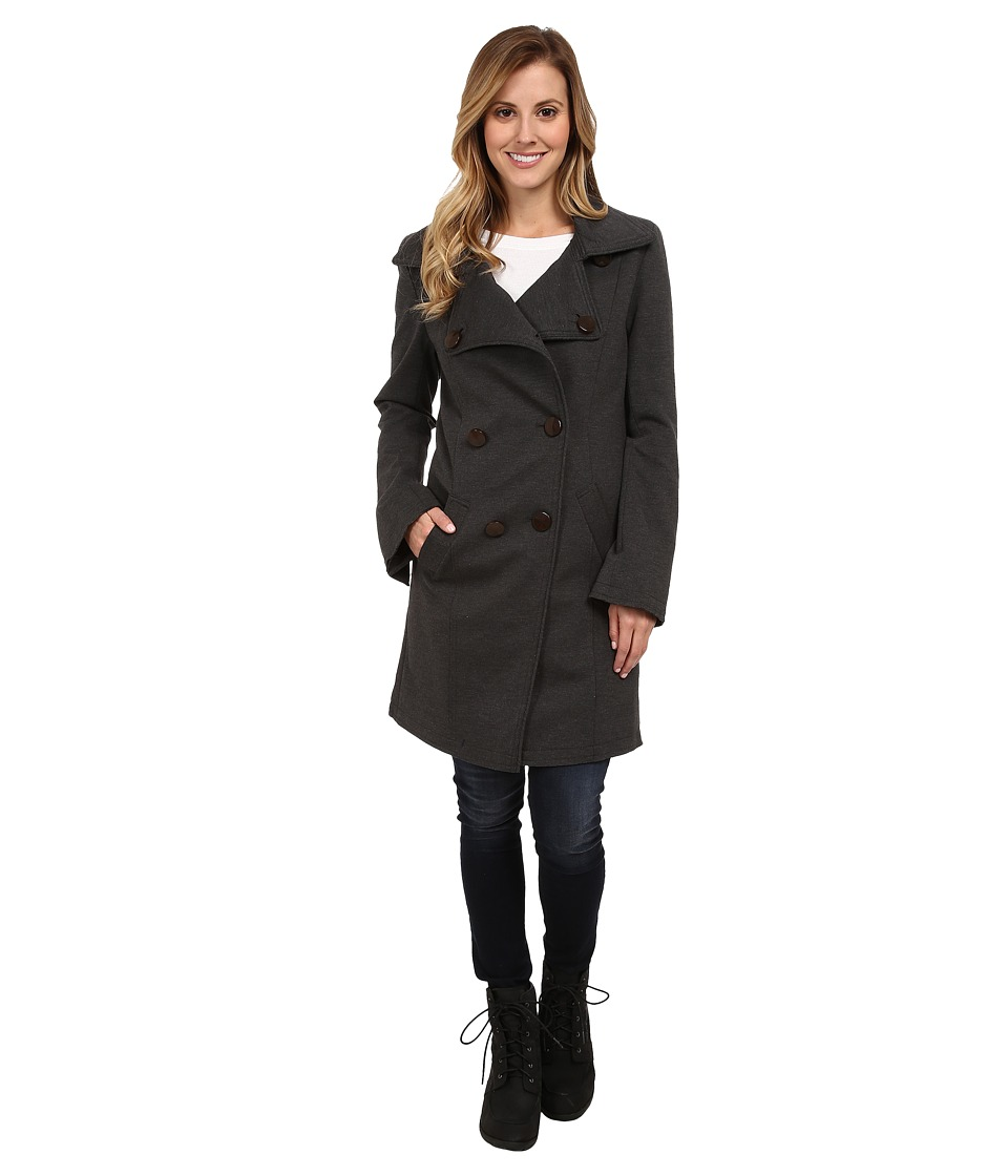 G.E.T. - Claire Jacket (Heather Charcoal) Women's Coat