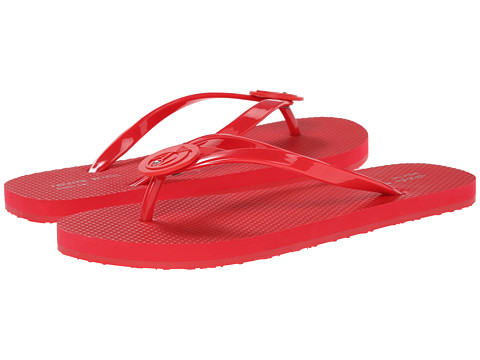 Armani Jeans - Rubber Flip Flop (Hot Magenta) Women's Sandals