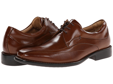 Johnston & Murphy - Tilden Lace-Up (Tan) Men's Shoes
