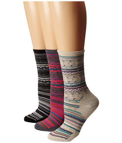 Smartwool - Ethno Graphic Crew (Natural 1) Women