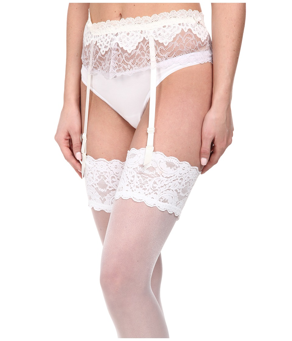 Hanky Panky - Dauphine Garter Belt (White) Women's Underwear