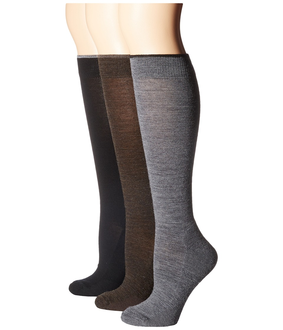 Smartwool - Basic Knee High 3-Pack (Multi) Women's Knee High Socks Shoes