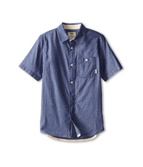 Vans Kids - Frazier (Big Kids) (Indigo Dot) Boy's Clothing