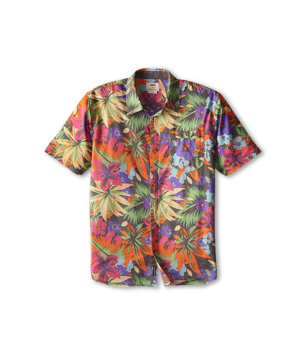 Vans Kids - Cosgrove (Big Kids) (Gravel Hampton Floral) Boy's Clothing