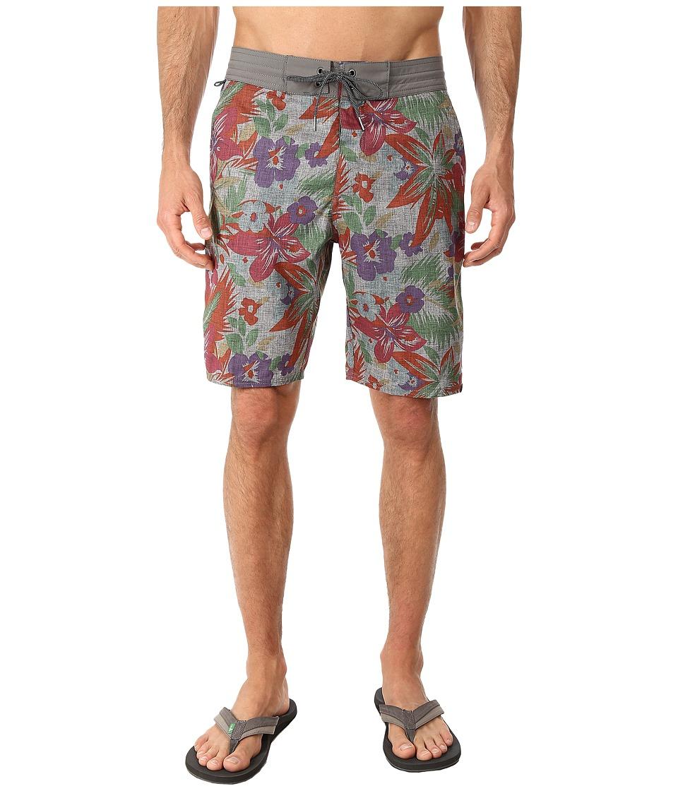Vans - Hamptons Decksider (Graphite) Men's Shorts