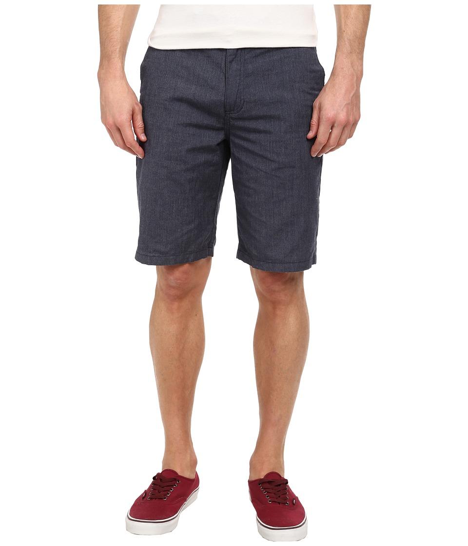Vans - Dewitt Walkshort (Peacoat Heather) Men's Shorts