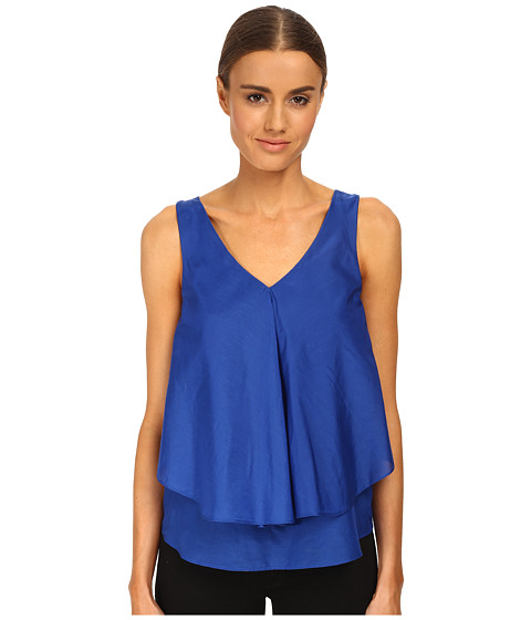 Armani Jeans - Silk Layered Blouse (Royal) Women