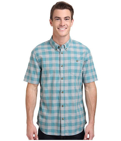 Vans - Milton Wovens (Lagoon) Men's Clothing