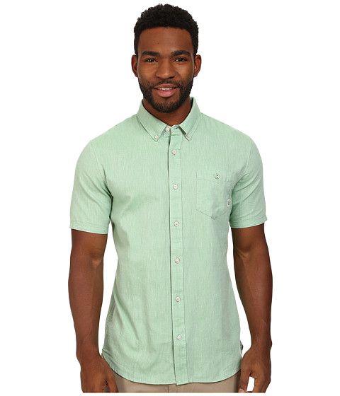 Vans - Houser S/S Wovens (Peppermint) Men's Clothing