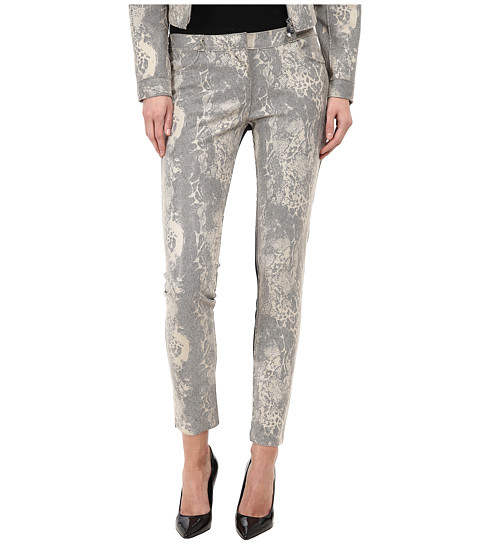 Armani Jeans - Reptile Print Legging (Beige) Women's Clothing