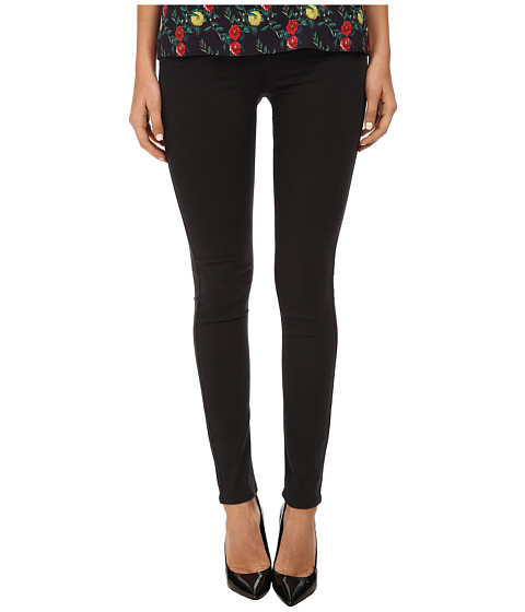 Armani Jeans - Skinny Fit Garment Dyed Pant (Black) Women's Casual Pants