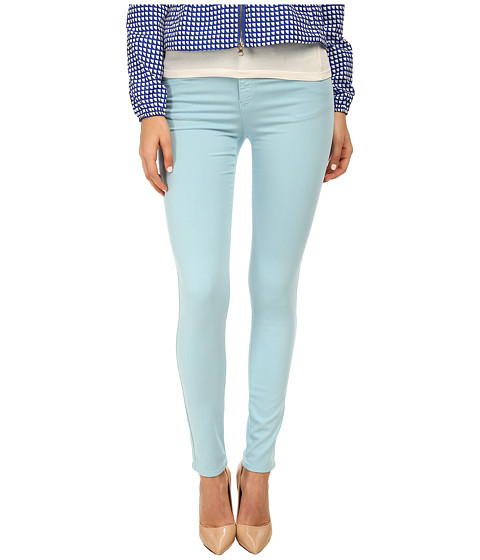 Armani Jeans - Skinny Fit Garment Dyed Pant (Mint) Women