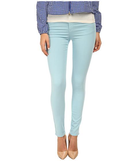 Armani Jeans - Skinny Fit Garment Dyed Pant (Mint) Women