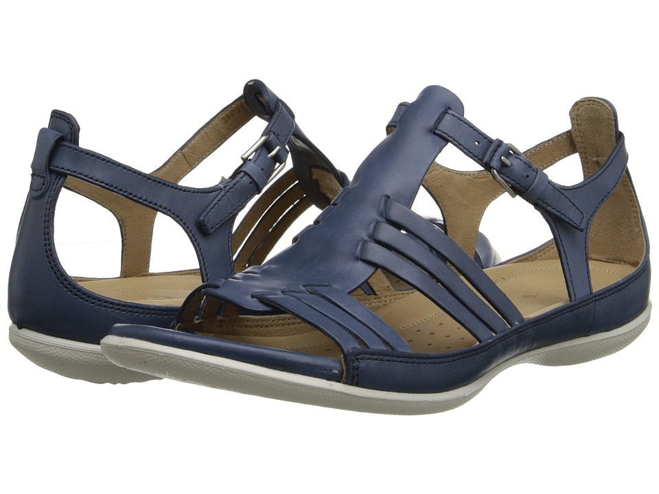 ECCO - Flash Huarache Sandal (Denim Blue) Women