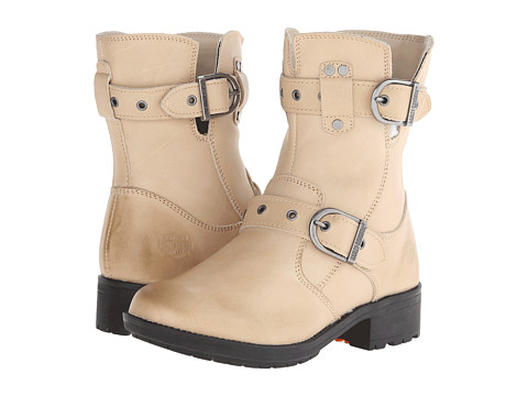 Harley-Davidson - Grace (Tan) Women's Zip Boots