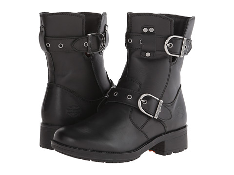 Harley-Davidson - Grace (Black) Women's Zip Boots
