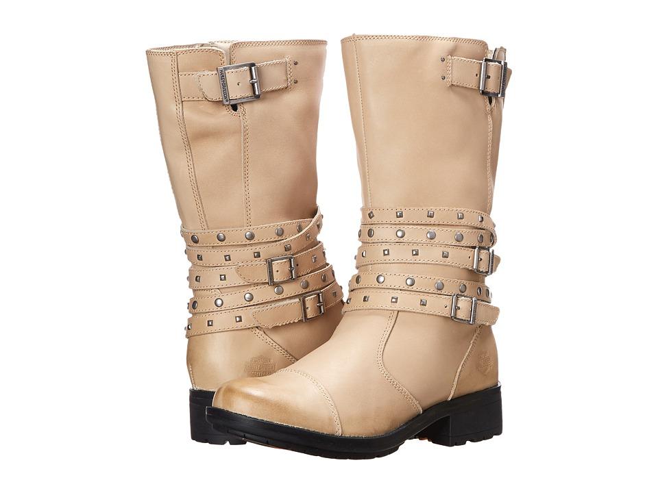 Harley-Davidson - Kennedy (Tan) Women's Zip Boots