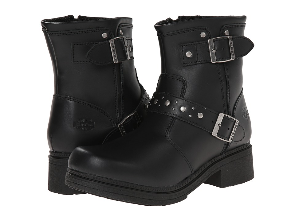 Harley-Davidson - London (Black) Women's Zip Boots