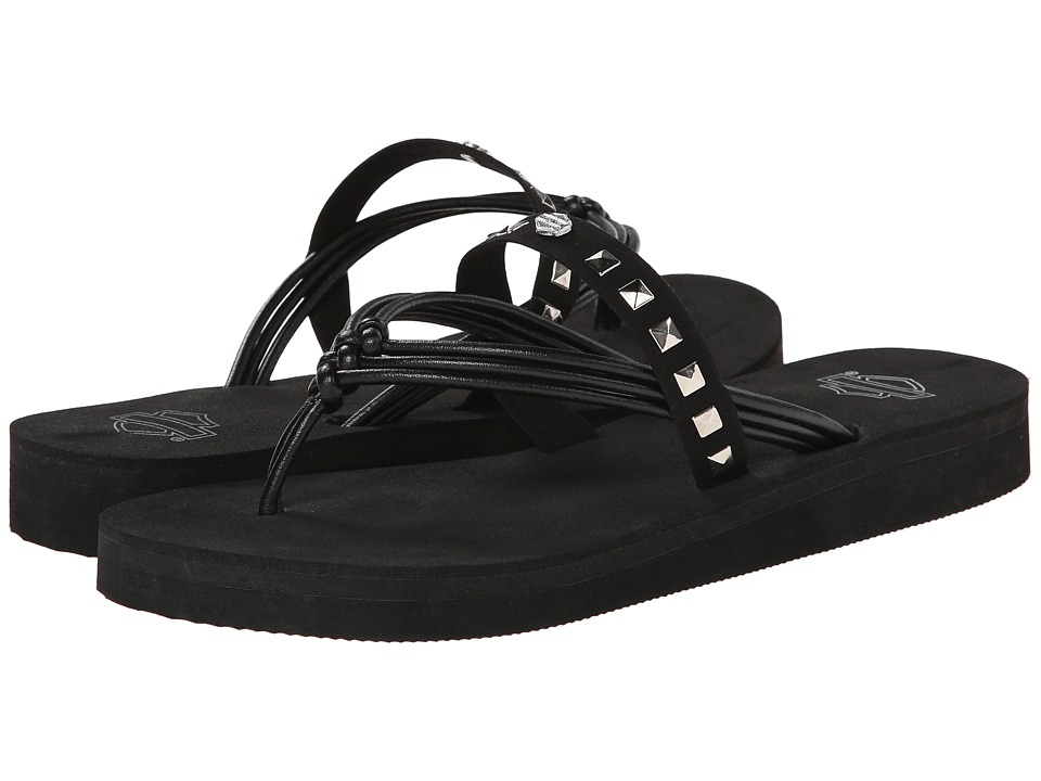 Harley-Davidson - Faye (Black) Women's Sandals