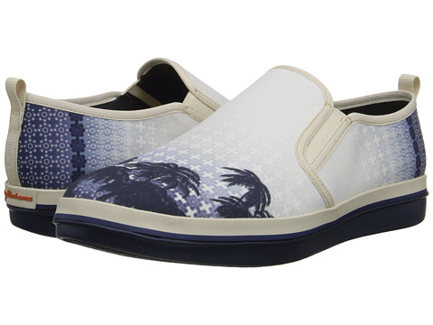 Tommy Bahama - Relaxology Ryver Canvas (Beach Bum) Men's Slip on Shoes