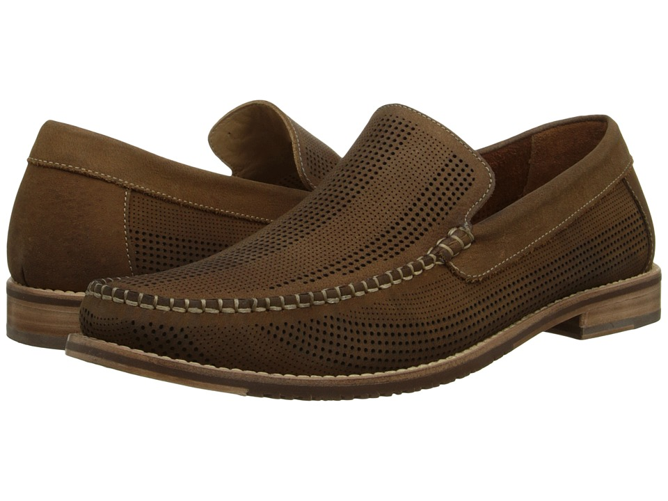 Tommy Bahama - Felton (Tan) Men's Slip on Shoes