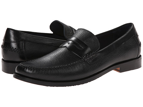 Tommy Bahama - Finlay Penny (Black) Men's Slip on Shoes