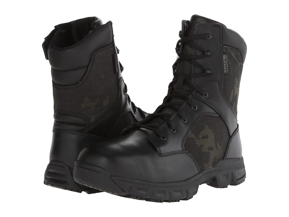 Bates Footwear - Code 6 Multicam (Black) Men's Work Boots