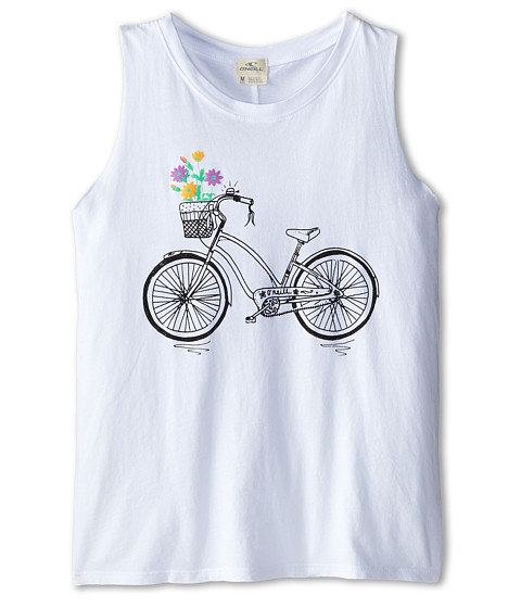 O'Neill Kids - Sunday Rides Tank Top (Big Kids) (White) Girl's Sleeveless