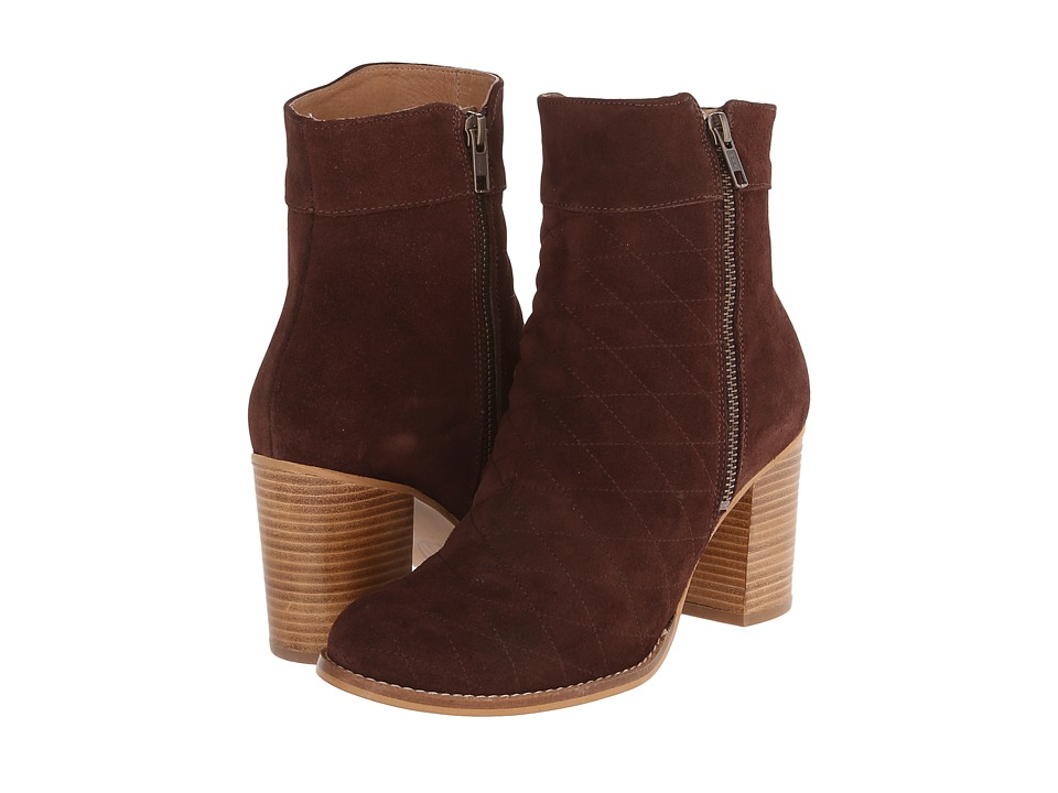 House of Harlow 1960 - Lesllie (Brown Suede) Women's Dress Zip Boots