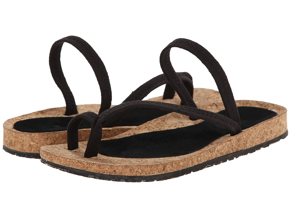 OTZ - Diana (Black Linen) Women's Sandals