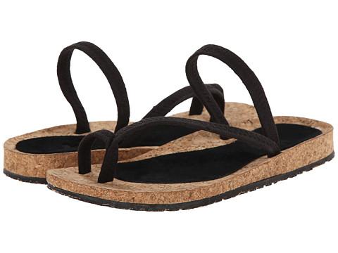 OTZ - Diana (Black Linen) Women's Sandals