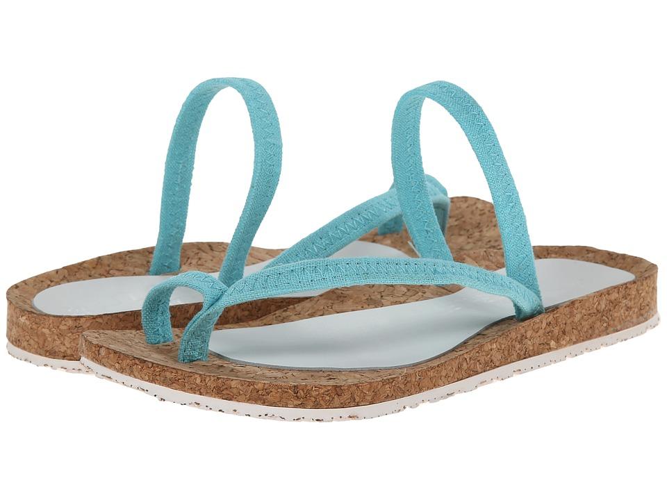 OTZ - Diana (Aqua Sky Linen) Women's Sandals
