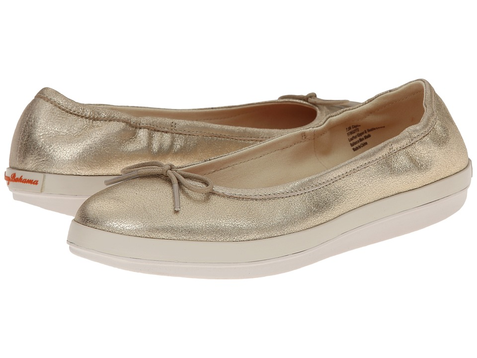 Tommy Bahama - Relaxology Caylee (Gold Dust) Women's Slip on Shoes
