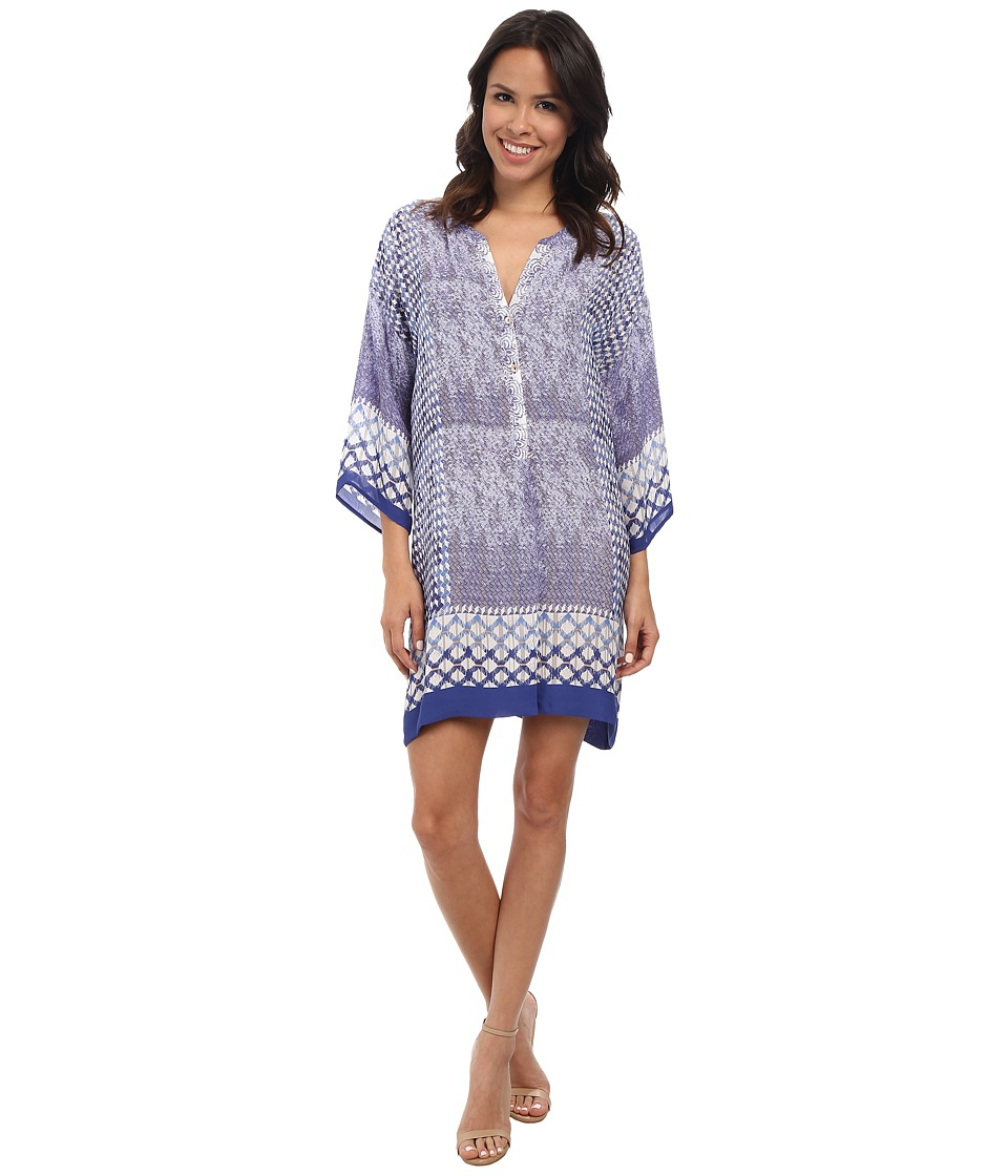 NIC+ZOE - Roman Tiles Tunic Dress (Multi) Women's Dress