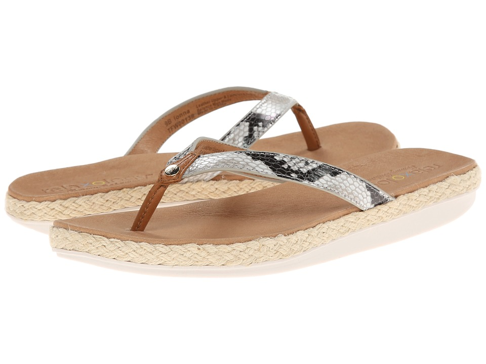 Tommy Bahama Relaxology(r) Ionna (Natural Snake) Women