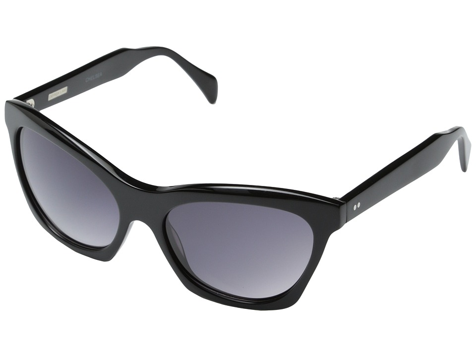 Derek Lam - Chelsea (Black) Fashion Sunglasses