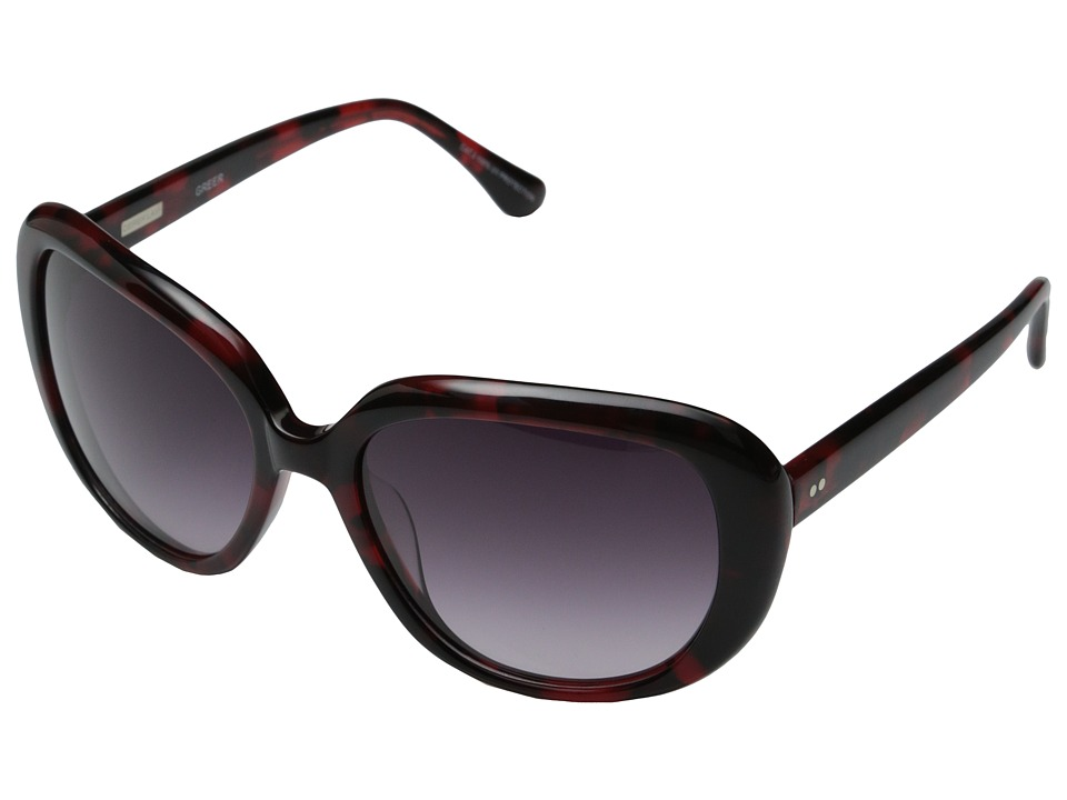 Derek Lam - Greer (Red Tortoise) Fashion Sunglasses