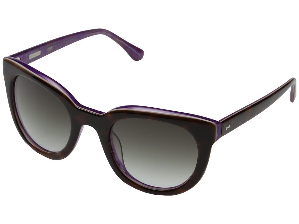 Derek Lam - Lore (Tortoise) Fashion Sunglasses