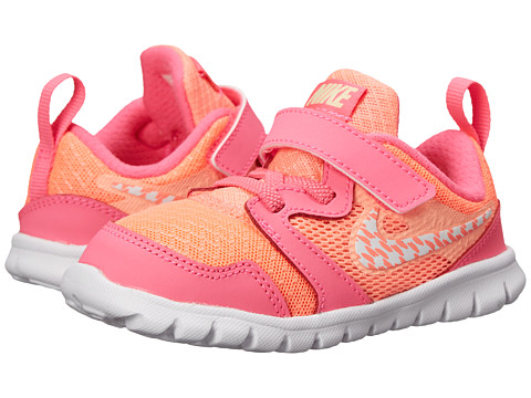 Nike Kids - Flex Experience 3 (Infant/Toddler) (Lava Glow/Pink Pow/Liquid Lime/White) Girls Shoes