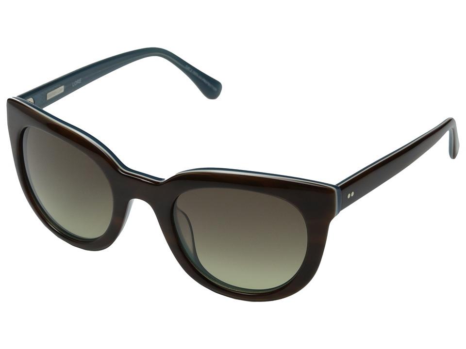 Derek Lam - Lore (Brown) Fashion Sunglasses