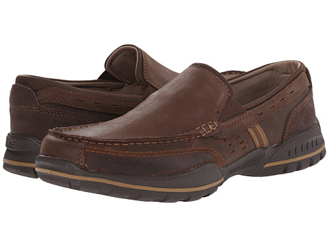 SKECHERS - Vorlez - Hopeton (Brown) Men