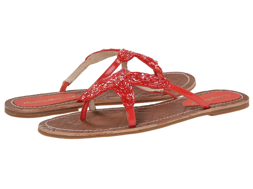 Tommy Bahama - Harlow (Bright Coral) Women's Sandals