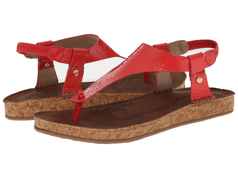 Tommy Bahama - Tanna (Bright Coral) Women's Sandals